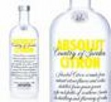 Absolut vodka citrom 0,7 40%